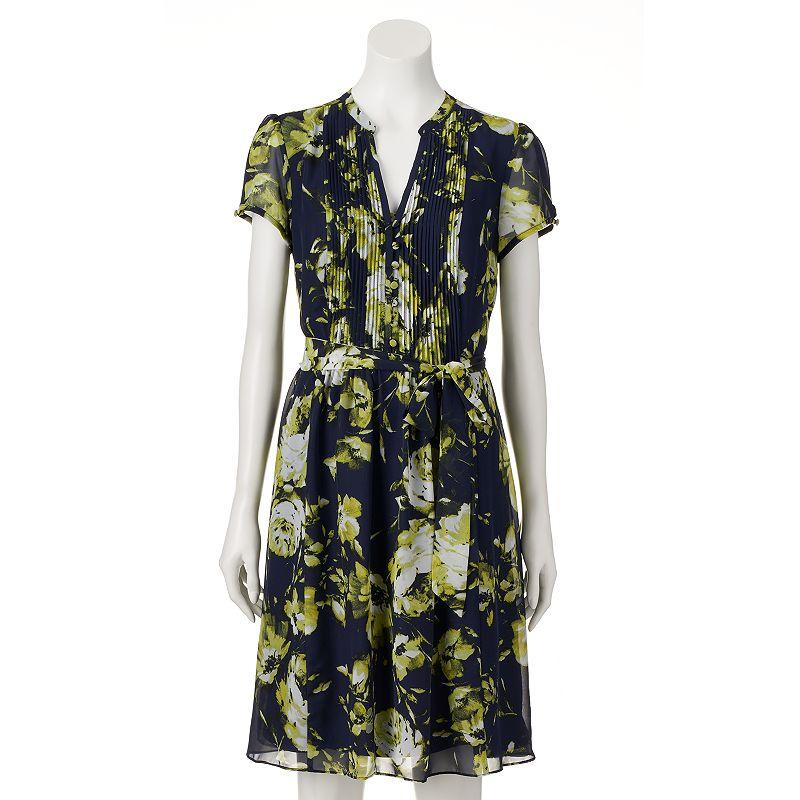 Women's MSK Floral Shirtdress