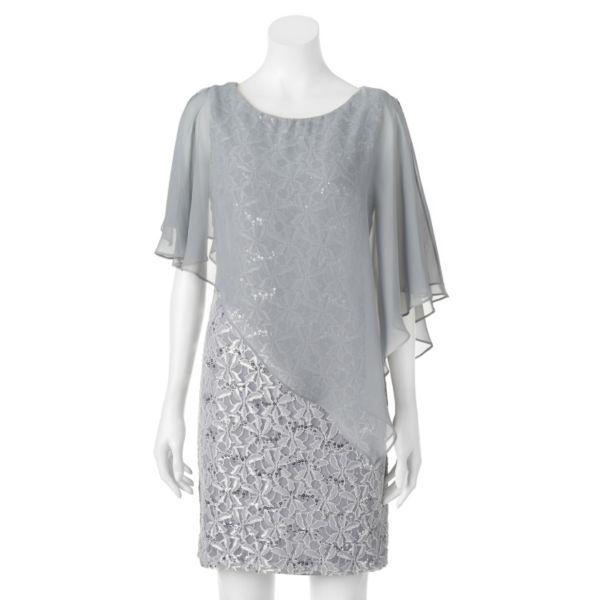 Women's Scarlett Lace Capelet Dress