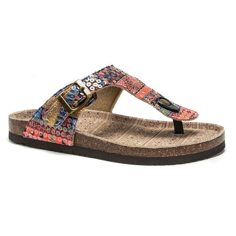 MUK LUKS Tina Women's Thong Sandals