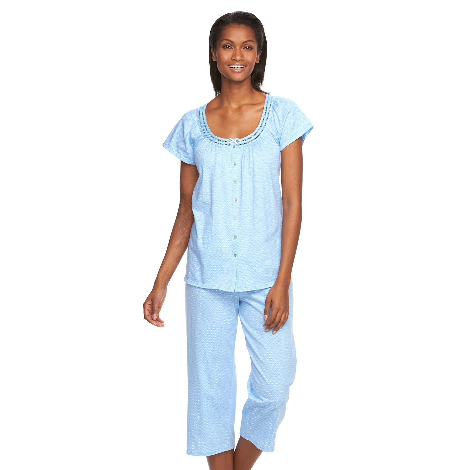 Womens Croft & Barrow? Pajamas: Touch of Cotton Pajama Set