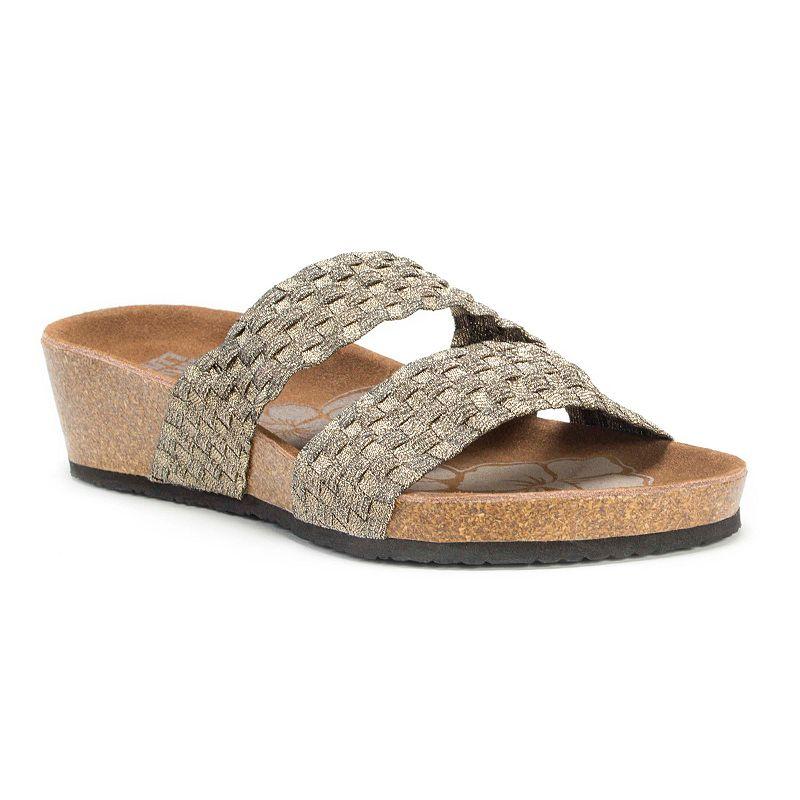 MUK LUKS Heather Women's Wedge Sandals