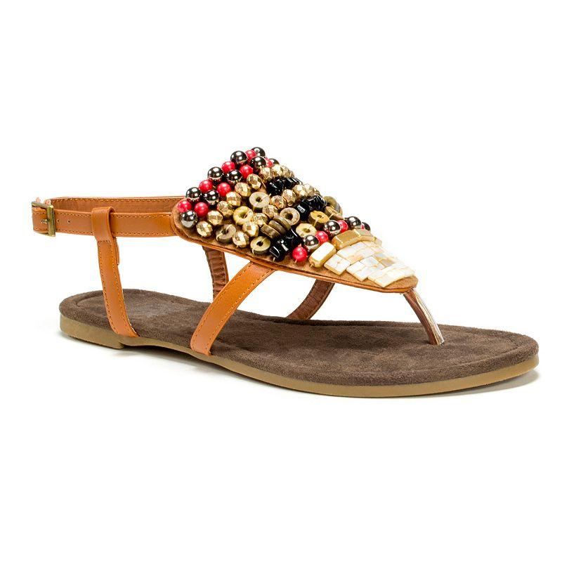 MUK LUKS Harlow Women's Beaded Sandals