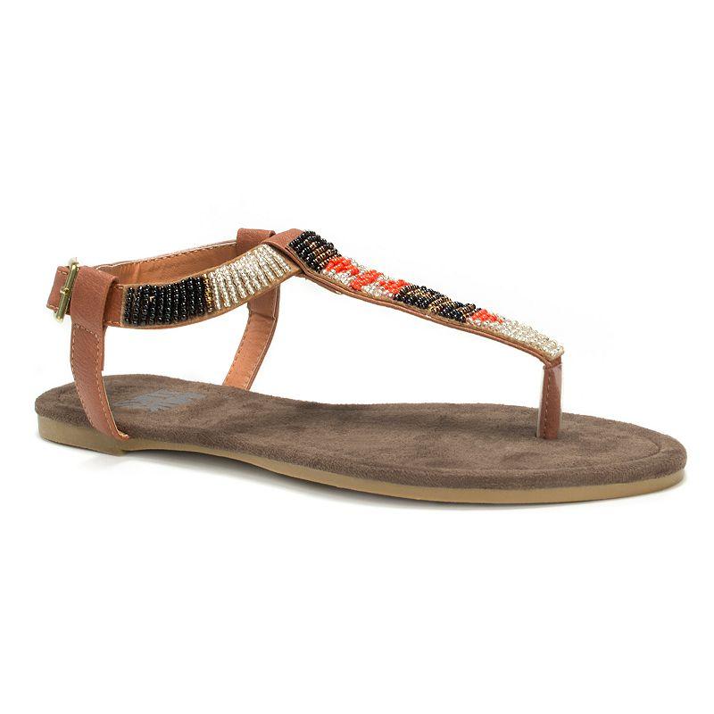 MUK LUKS Jennifer Women's Beaded Sandals