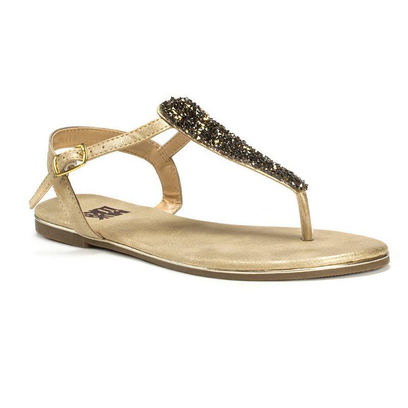 MUK LUKS Janice Women's Beaded Sandals