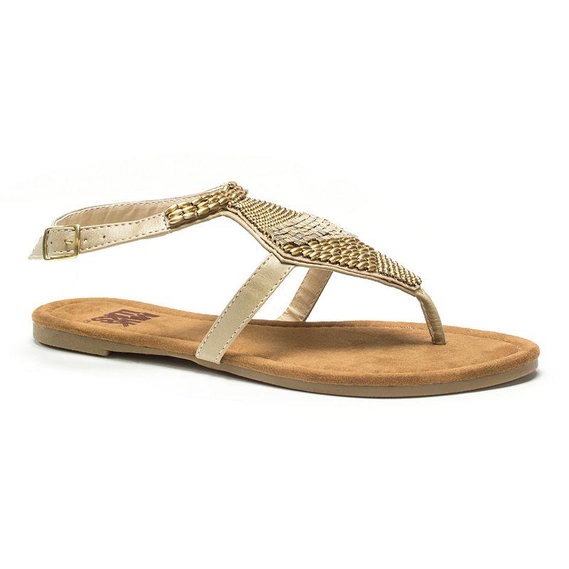 MUK LUKS Pamela Women's Beaded Sandals