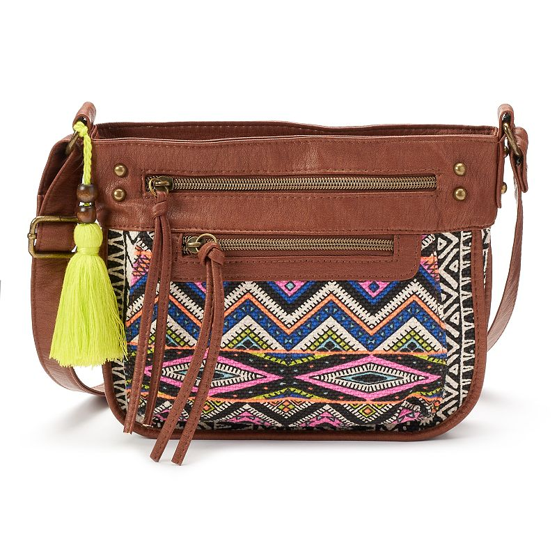 T-Shirt & Jeans Festival Muse Tribal Crossbody Bag