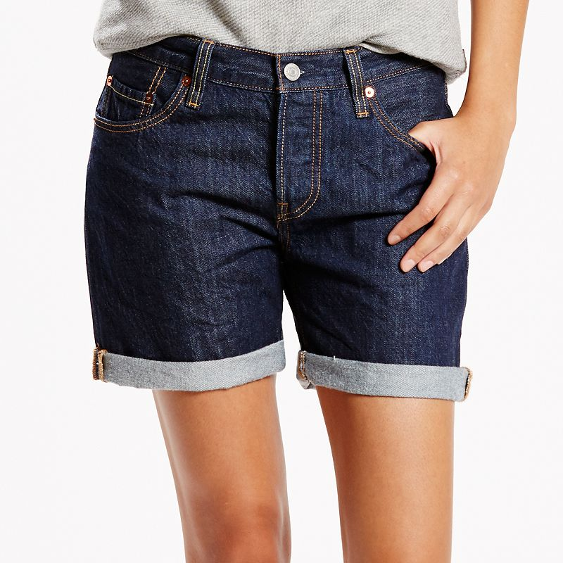 Women's Levi's 501 CT Cuffed Jean Shorts