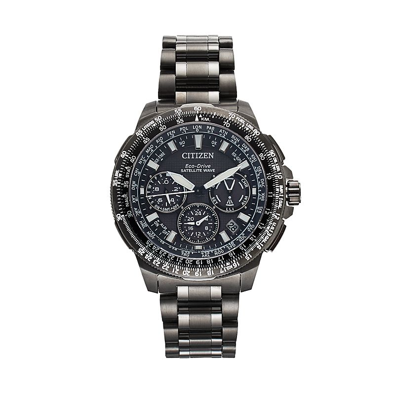 Citizen Eco-Drive Men's Promaster Navihawk GPS Super Titanium Flight Watch - CC9025-85E