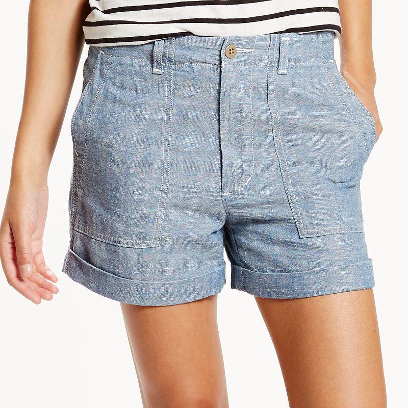 Women's Levi's Cuffed Utility Shorts