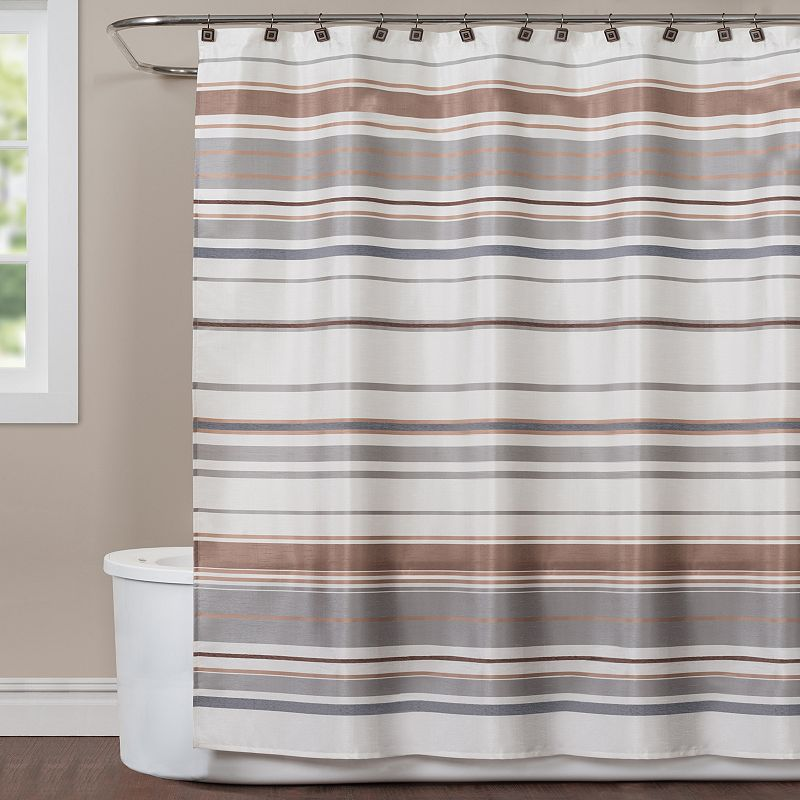 Saturday Knight, Ltd. Colorware Stripe Shower Curtain