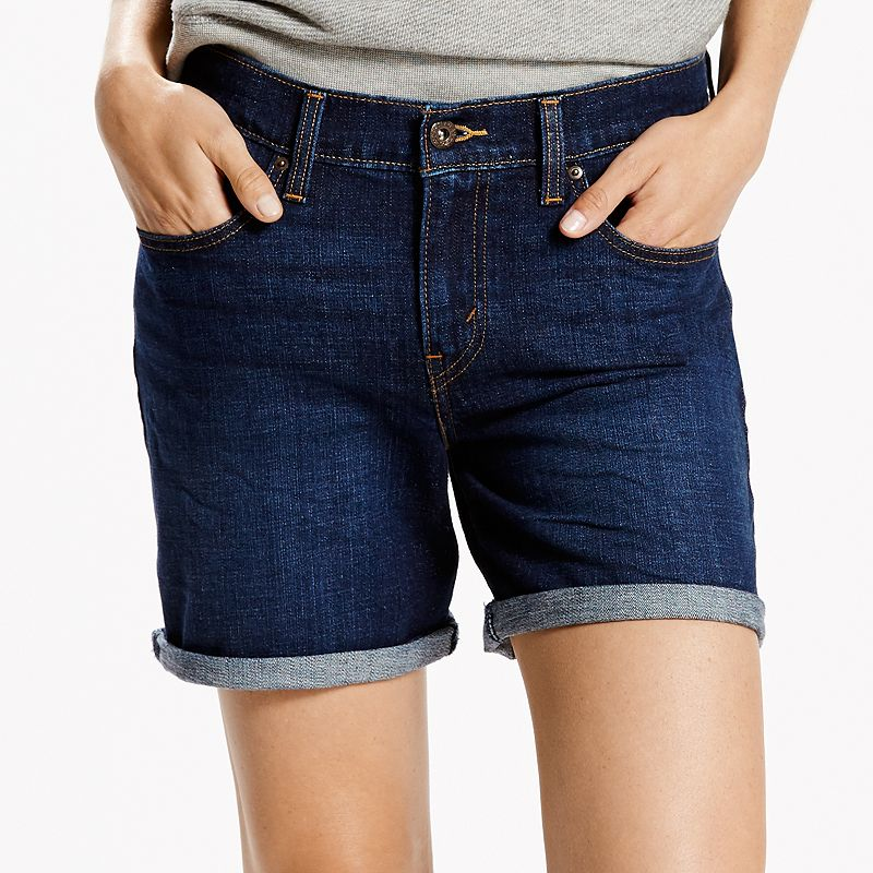 Women's Levi's Relaxed Fit Cuffed Jean Shorts