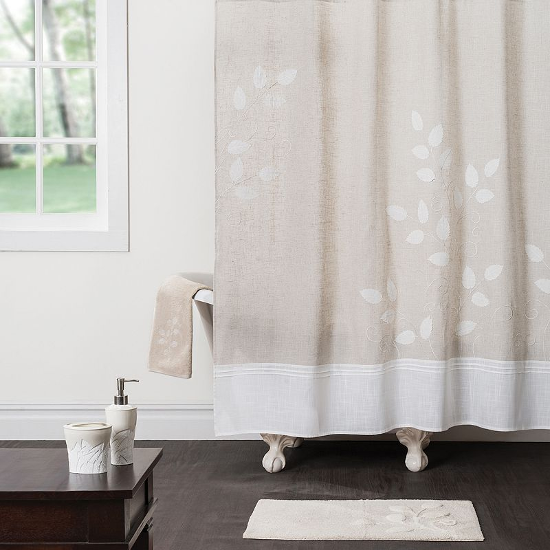 Saturday Knight, Ltd. Forest Path Shower Curtain