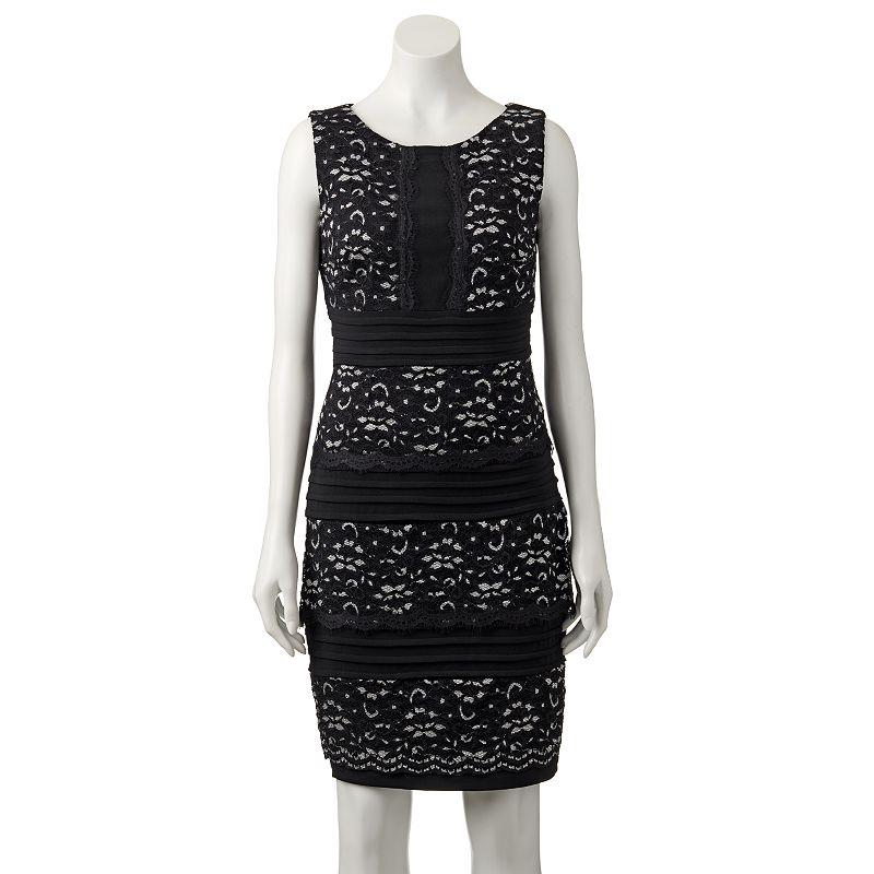 Women's Jax Tiered Lace Sheath Dress