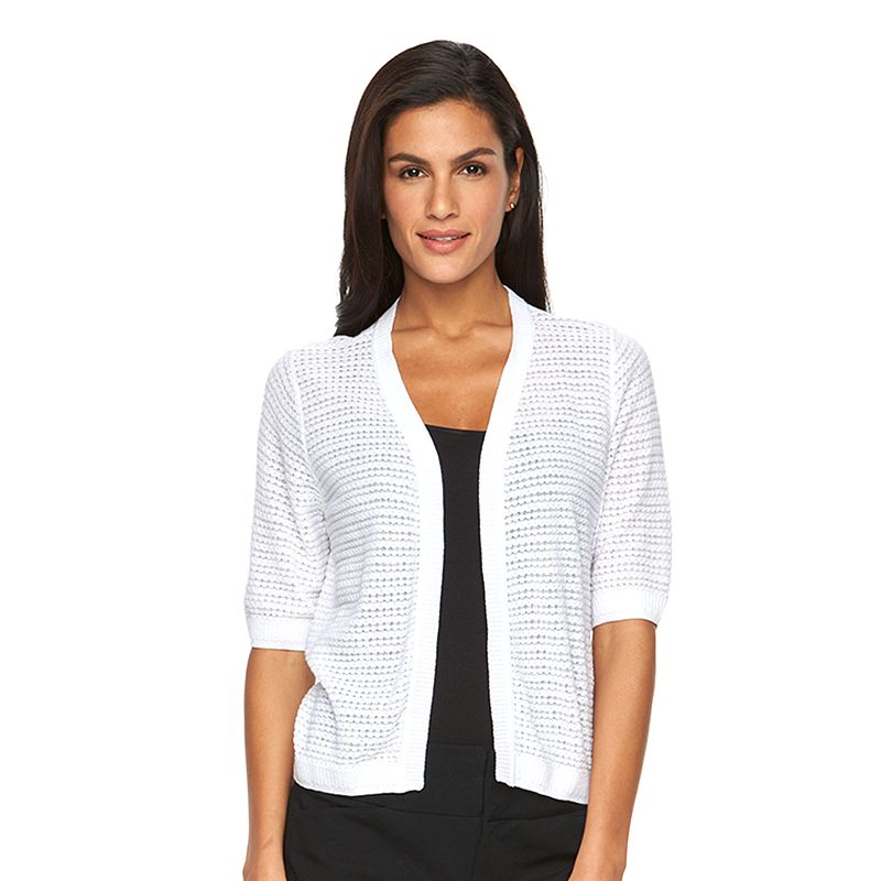 Women's AB Studio Textured Shrug