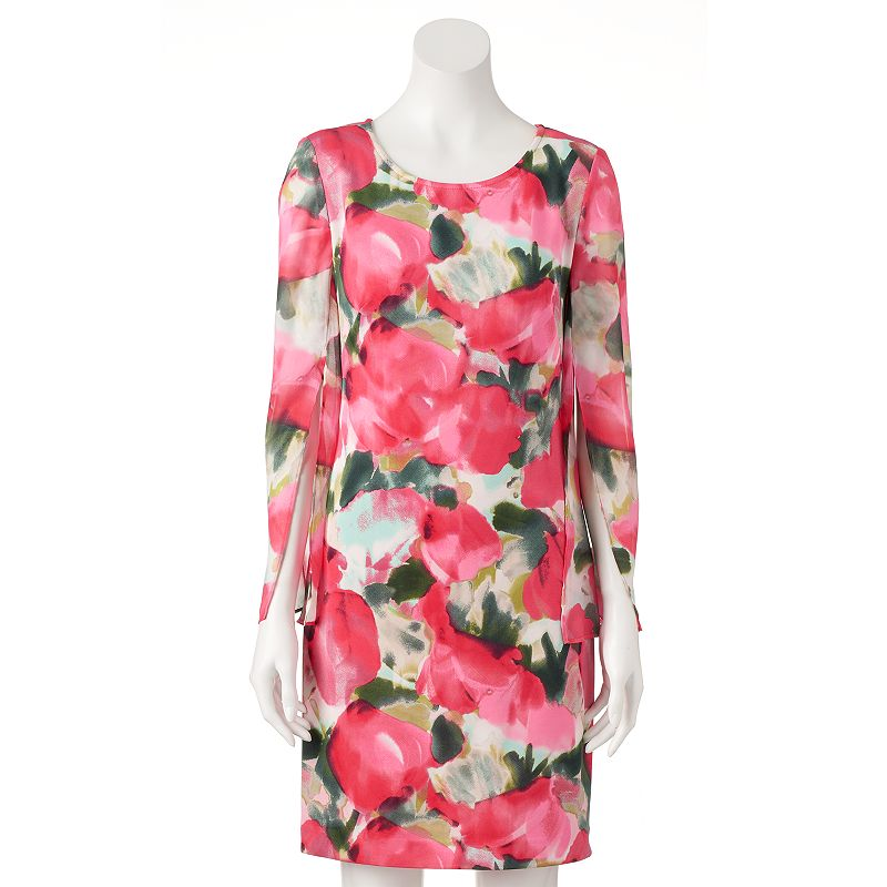 Women's DR by Donna Ricco Floral Shift Dress