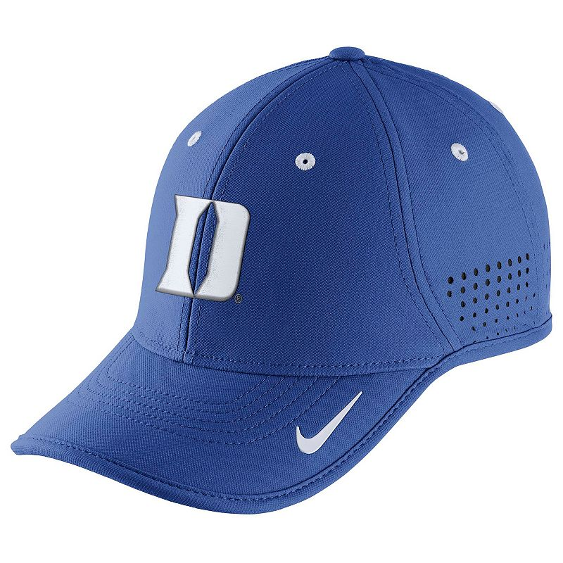 Adult Nike Duke Blue Devils Dri-FIT Coaches Adjustable Cap