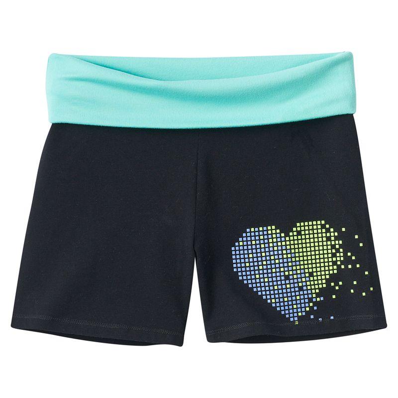 Girls 7-16 & Plus Size SO® Fold-Over Yoga Shorts
