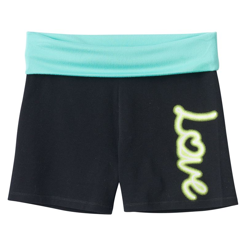 Girls 7-16 & Plus Size SO® Fold-Over Yoga Shorts