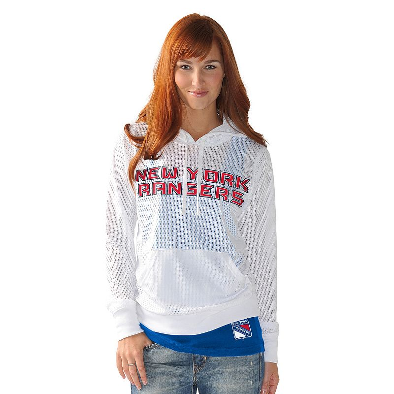 Women's New York Rangers Kick Off Hoodie