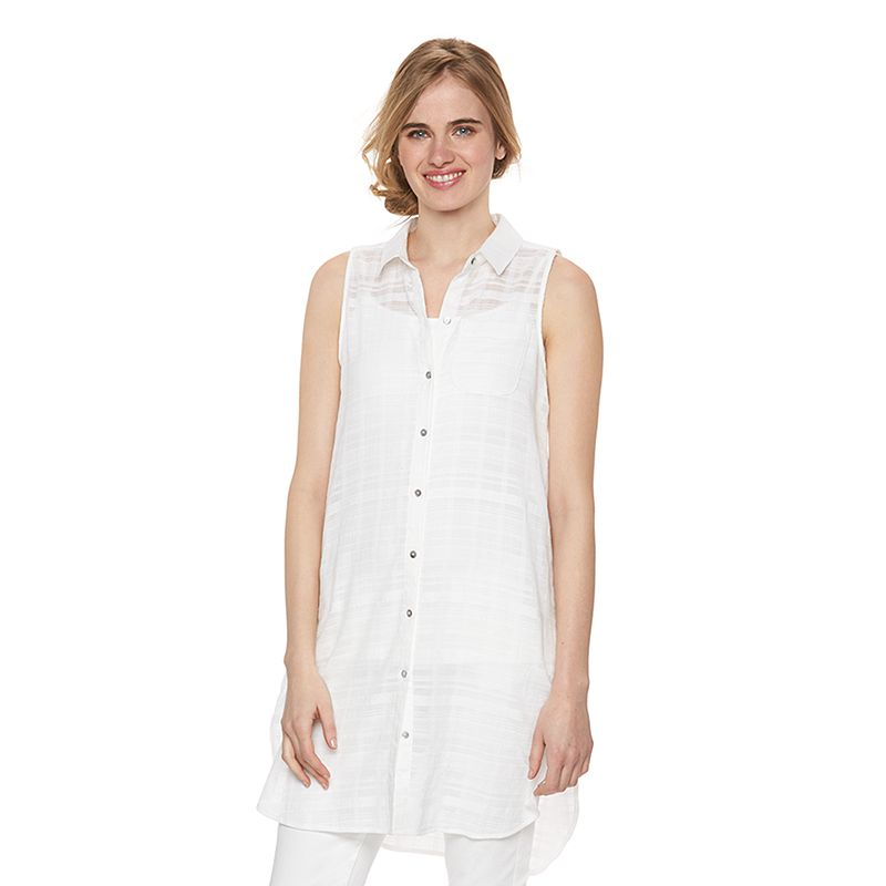 Women's LC Lauren Conrad Striped Shirtdress