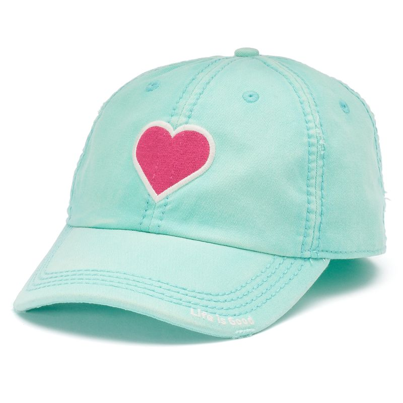 Life is Good Heart Baseball Hat