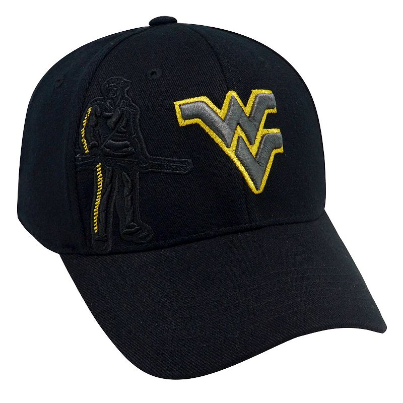 Adult Top of the World West Virginia Mountaineers Burnout One-Fit Cap