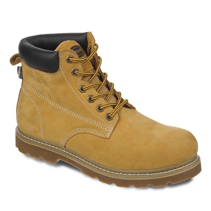 Dr. Scholl's Fenton Men's Steel-Toe Nubuck Work Boots