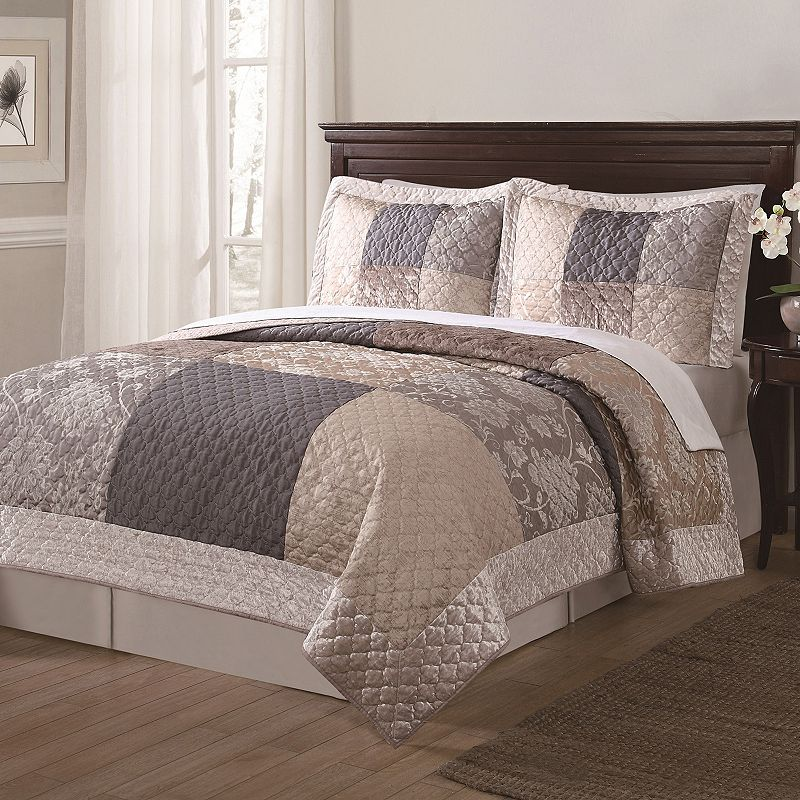 Wyndham 3-piece Quilt Set