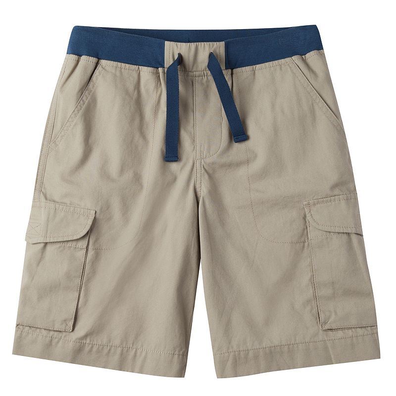Boys Chaps Canvas Pull-On Cargo Shorts