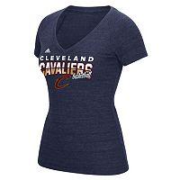 Women's adidas Cleveland Cavaliers Horizon Lines Tee