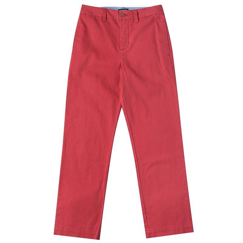 Boys 8-20 Chaps Flat-Front Chino Pants