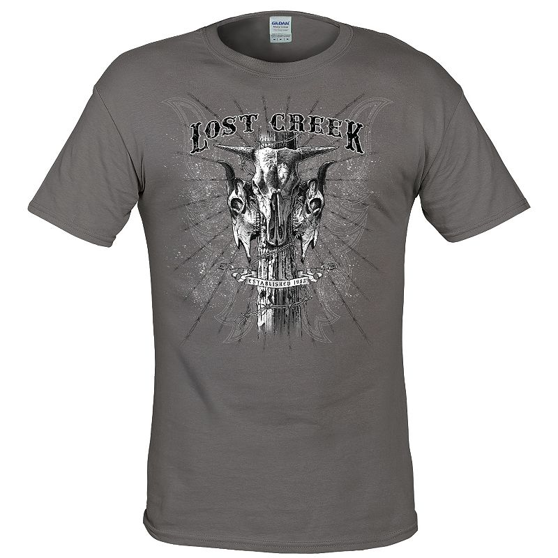 Men's Lost Creek Outfitters Skull Tee