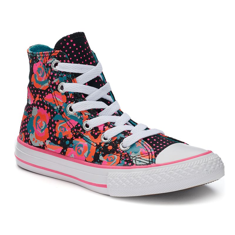 Kid's Converse Chuck Taylor All Star Floral High-Top Sneakers