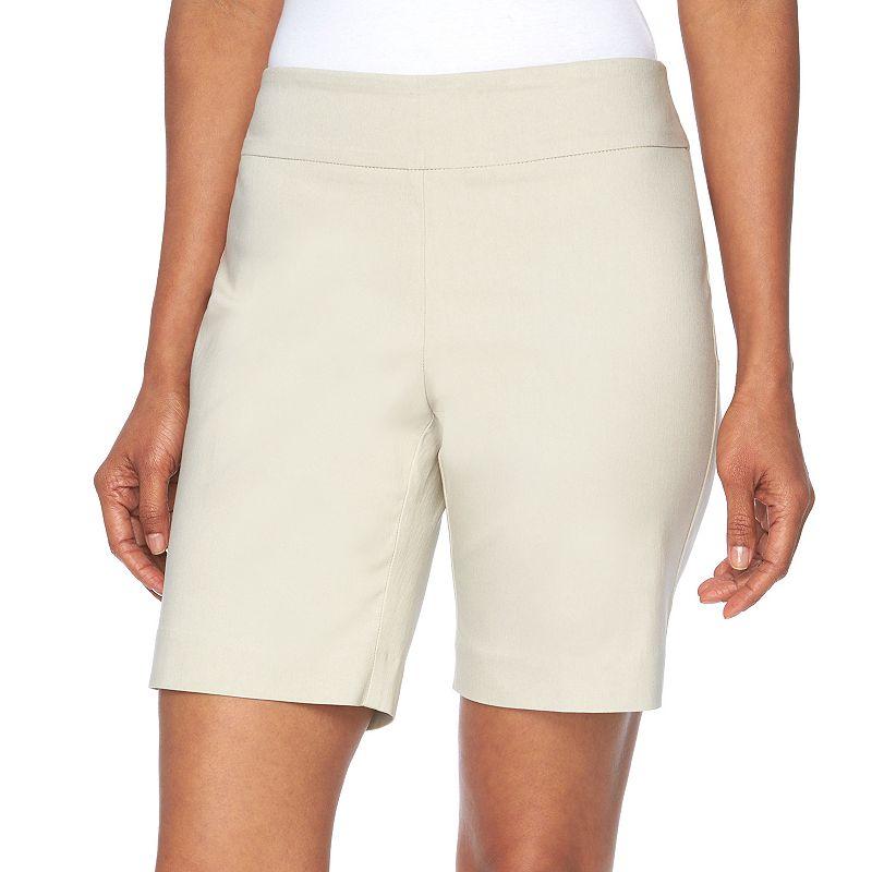 Women's Dana Buchman Solid Pull-On Shorts