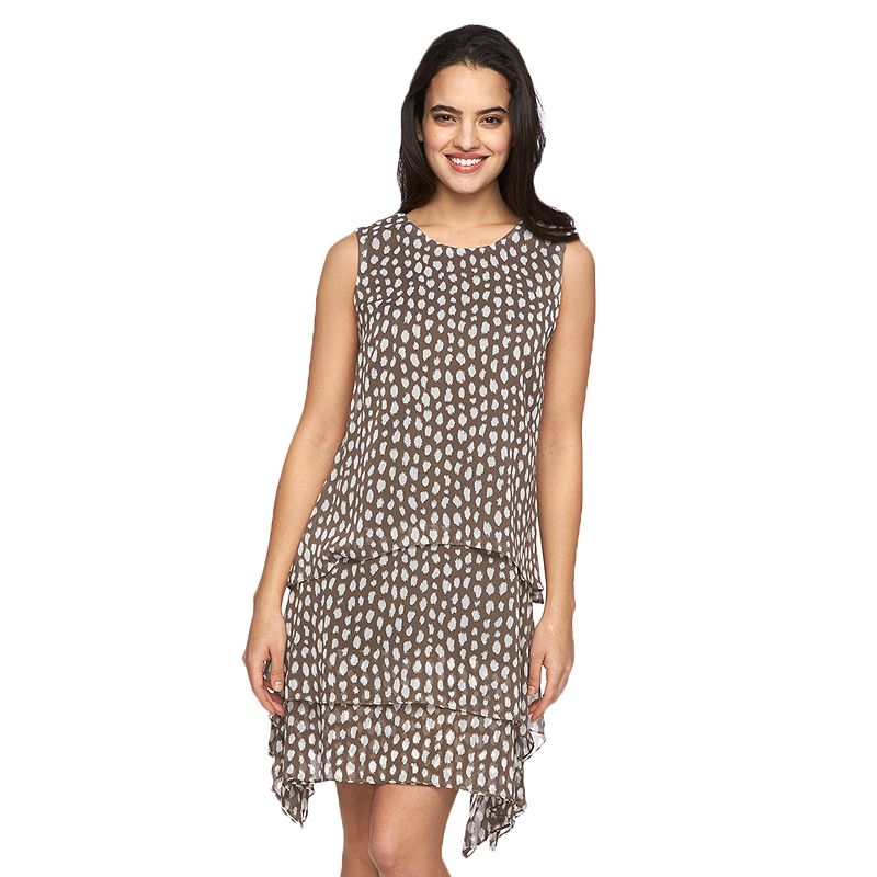 Women's MSK Tiered Shift Dress
