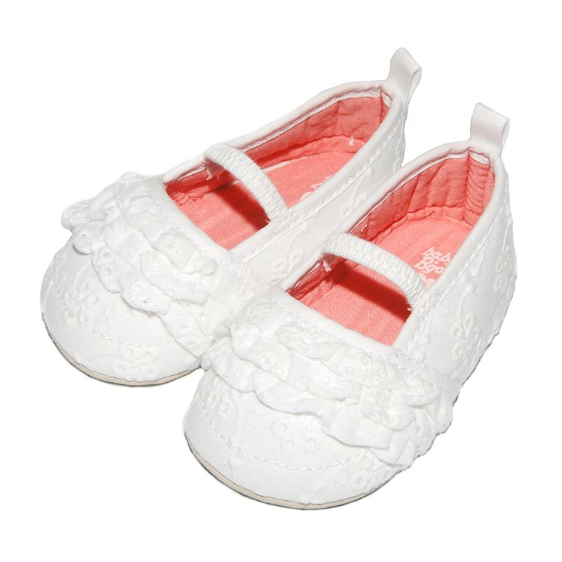 Baby Girl OshKosh B'gosh® Eyelet Mary Jane Crib Shoes