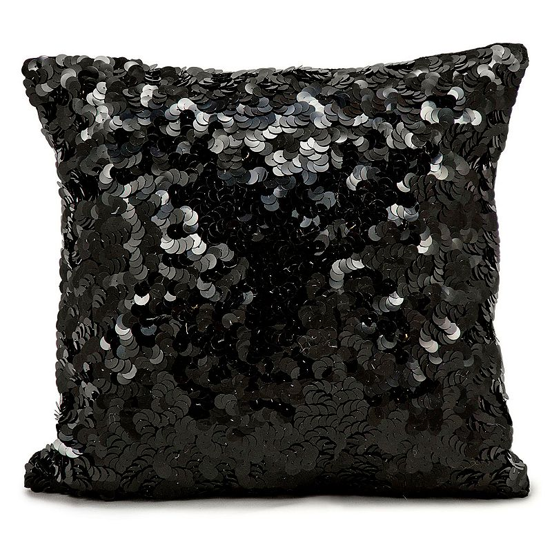 Kohls Black Decorative Pillow : Michael Amini Medallion Throw Pillow DealTrend