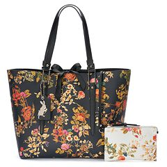 Disneys Alice Through The Looking Glass Designer Collection by Colleen Atwood Tote by