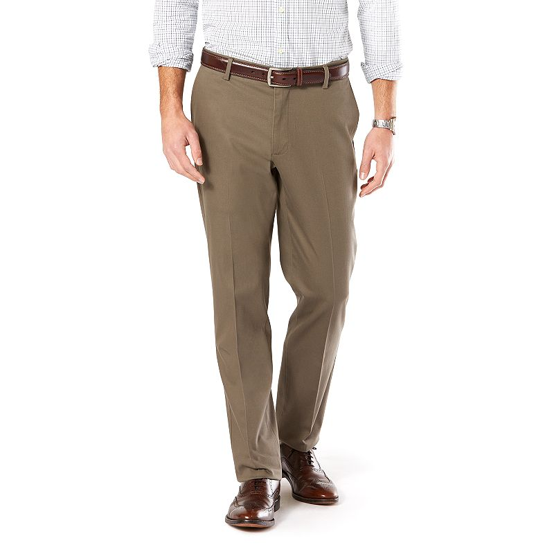 Men's Dockers® Signature Khaki Athletic-Fit Stretch Flat-Front Pants