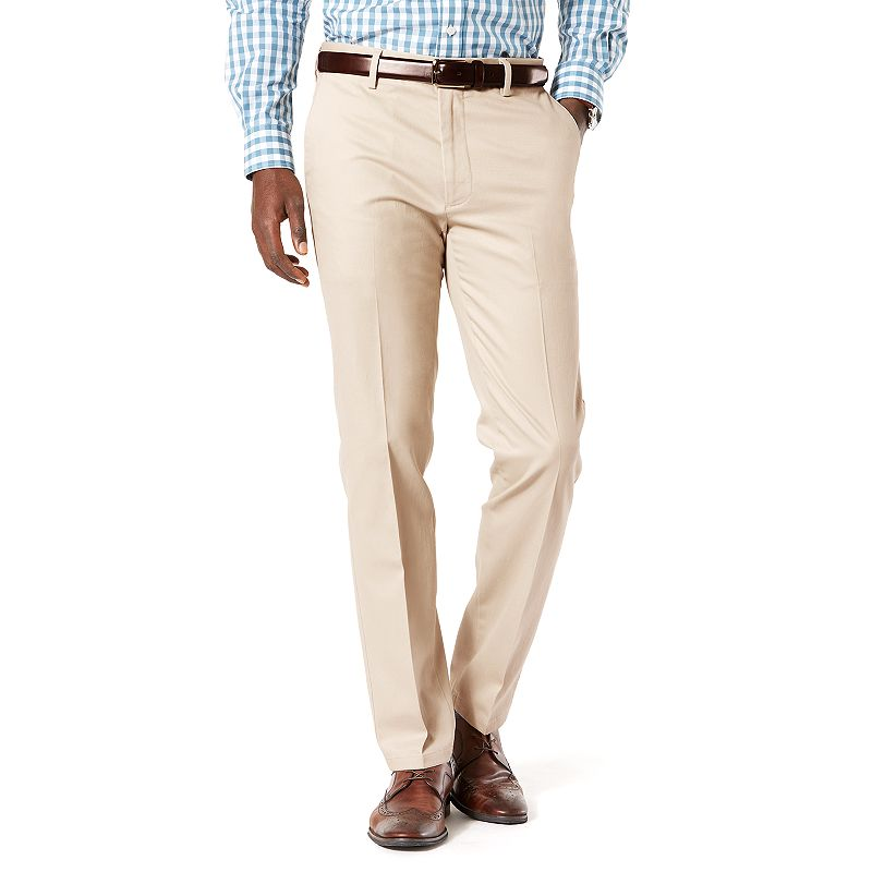 Men's Dockers® Signature Khaki Slim-Fit Stretch Flat-Front Pants