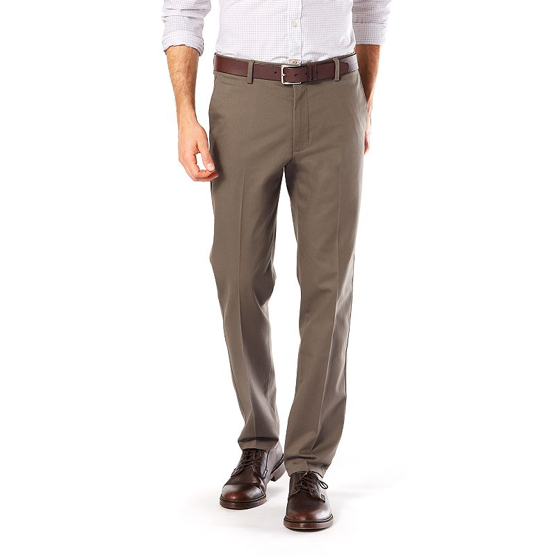 Men's Dockers® Stretch Signature Khaki Slim-Fit Tapered Flat-Front Pants