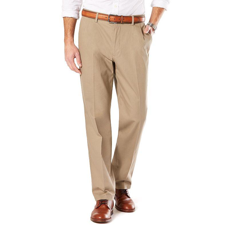 Men's Dockers® Stretch Signature Khaki Slim-Fit Tapered Flat-Front Pants