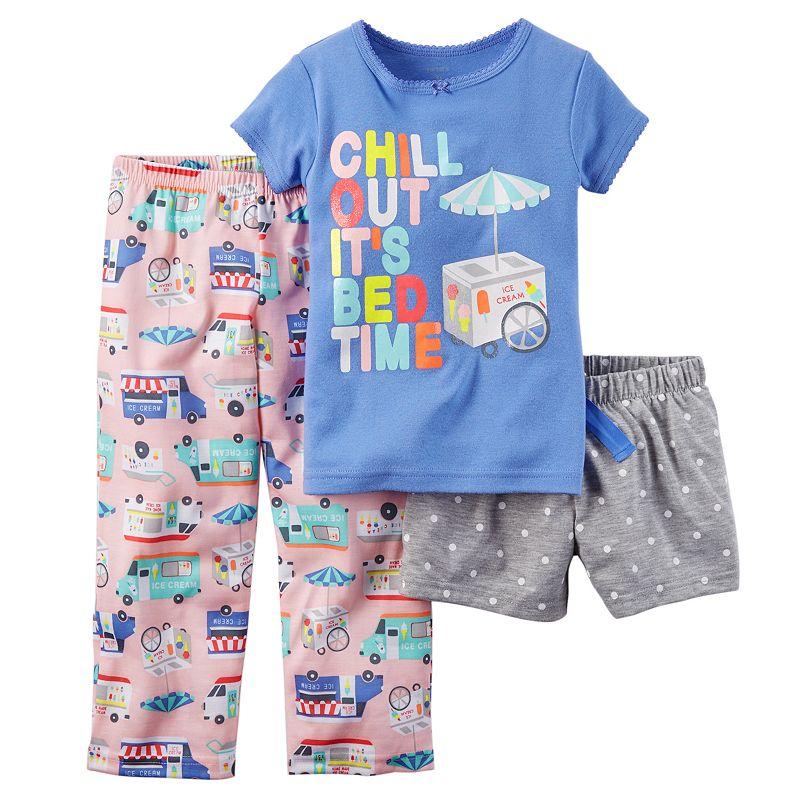 Girls 4-14 Carter's Pajama Set