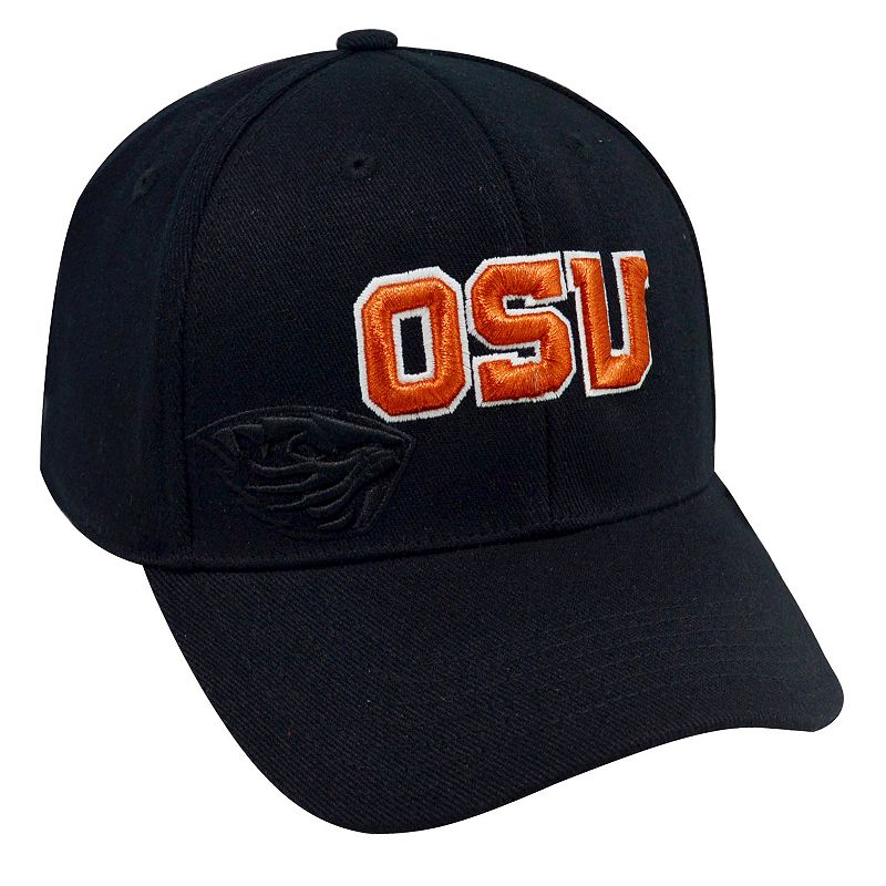 Adult Top of the World Oregon State Beavers Burnout One-Fit Cap