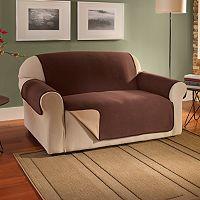 Innovative Textile Solutions Waterproof Reversible Fleece Sofa Protector