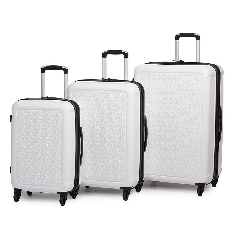 it luggage Honeycomb 3-Piece Hardside Spinner Luggage Set