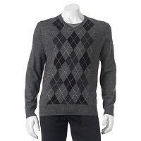 Big & Tall Apt. 9 Classic-Fit Argyle Merino Sweater