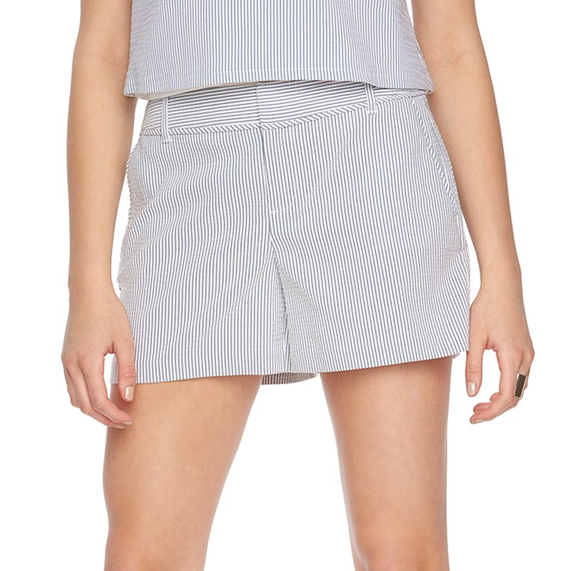 Women's ELLE™ Seersucker Shorts