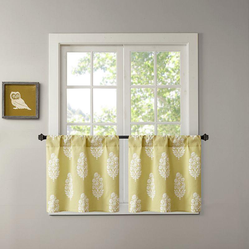 Intelligent Design Adisa Printed Kitchen Tier Curtains
