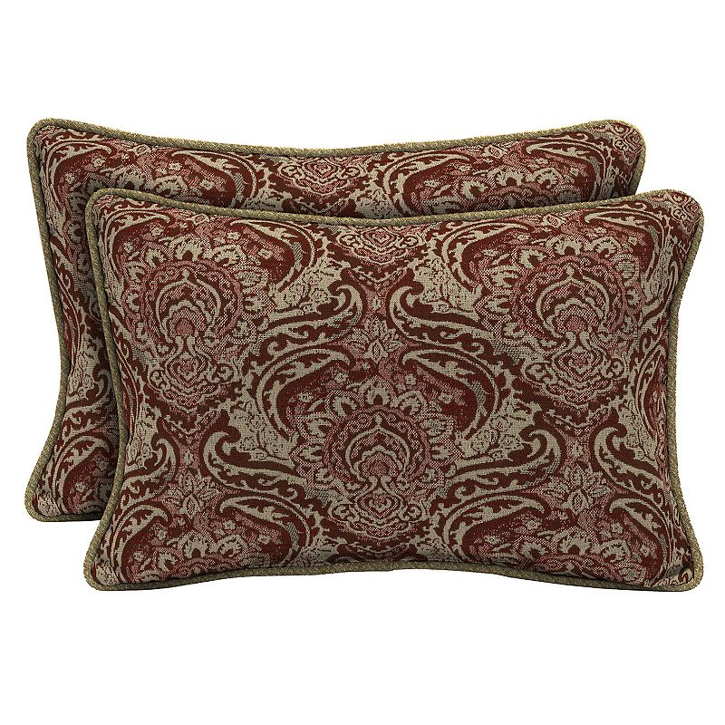 Red Outdoor Throw Pillow Kohl s